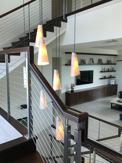 Foyer Chandelier 2 Story Contemporary