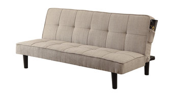 Fabric Convertible Sofa To Bed, Beige