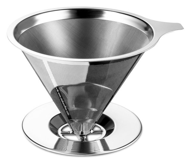 Perfect Cone Stainless Steel Coffee Filter