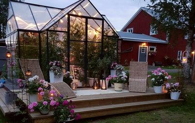 Houzz Tour: Maskinförarens romantiska hem i Västerbotten