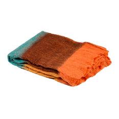 """Throw Mellow, Oranged Blue, 51.2""""x66.9"""""""