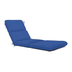Sunbrella Chaise Cushion, Canvas True Blue
