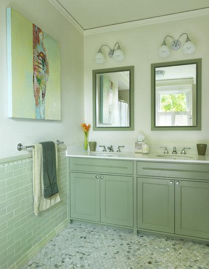 traditional bathroom by Rachel Reider Interiors