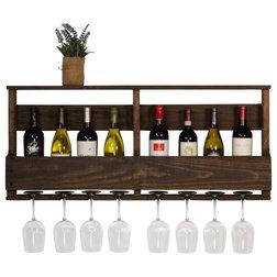 Rustic Wine Racks by Del Hutson Designs