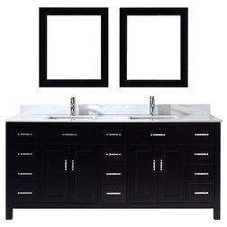 Modern Bathroom Vanities And Sink Consoles by Studio Bathe