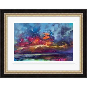 """Island Light"" Framed Print by Scott Naismith, 95x75 cm"