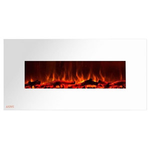 Fantastic Electric Fireplace Mount Color Led Flame Remote 50 In By Download Free Architecture Designs Intelgarnamadebymaigaardcom