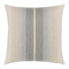 Elaine Smith Ombre Grigio Pillow