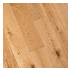 French Oak Prefinished Engineered Wood Floor, Natural, 1 Box