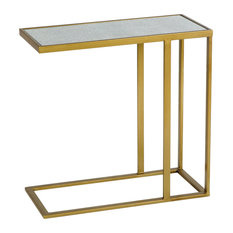 Gold Under Sofa Side Table