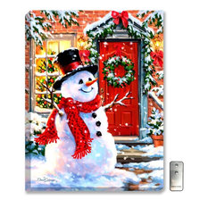 Snow Place Like Home Wall Art by Dona Gelsinger