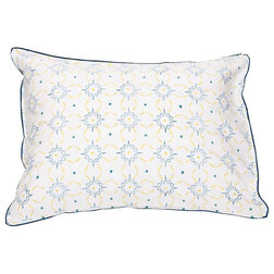Farmhouse Pillowcases And Shams Preston Standard Pillow Shams, Set of 2