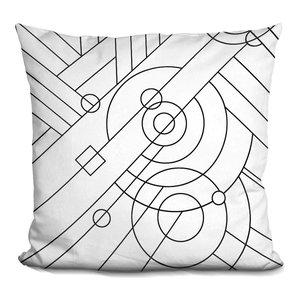 LiLiPiPop Art Deco Panel 715 Decorative Accent Throw Pillow