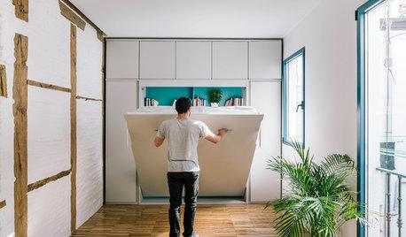 Casas Houzz: 30 m² en Chueca para un chico joven