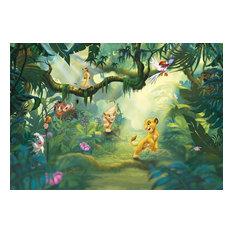 Disney The Lion King Jungle Photo Wall Mural, 368x254 cm