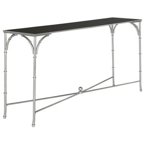 Safavieh Maxwell Console, Silver and Black