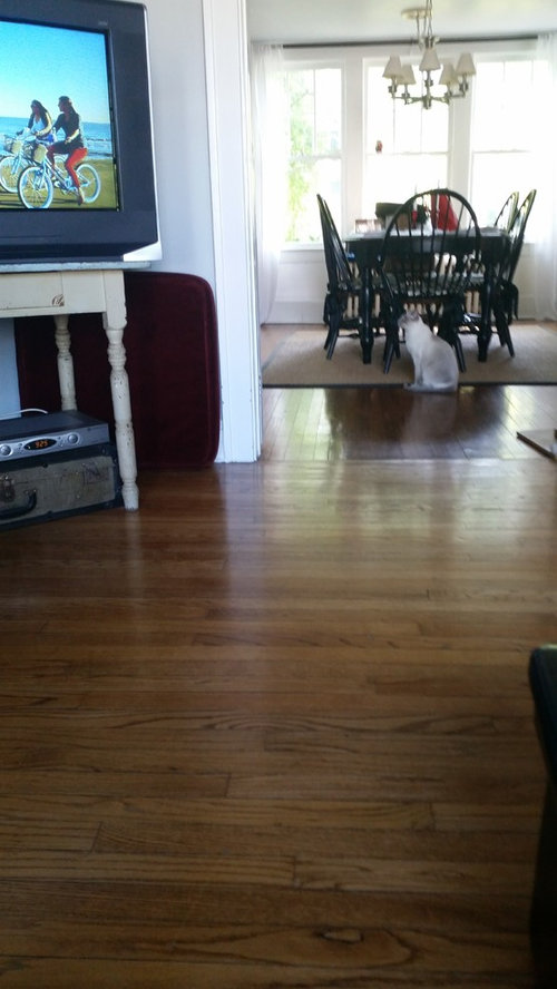Changing Our 1910 House Floors To Dark Wood Stain