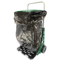 All Purpose Rolling Garden Utility Cart -Wheeled Dolly Carries Trash or Supplie