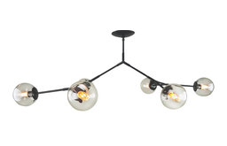 Branching Chandelier, Bubble Glass 6 Globes