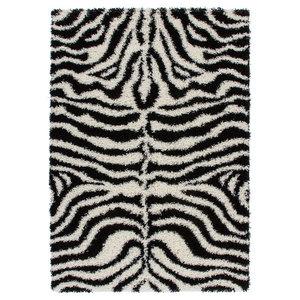 Hamburg Zebra Rug, Black and White, 160x230 cm
