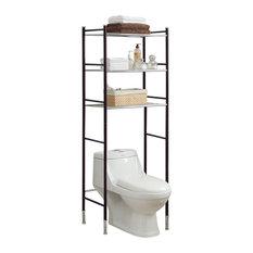 Duplex-Spacesaver Bathroom Shelves