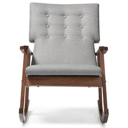 Transitional Rocking Chairs by Baxton Studio
