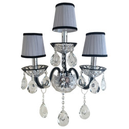 Traditional Wall Sconces by Tomia Crystal Chandeliers