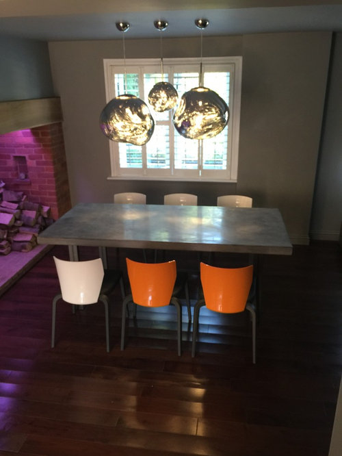 2.2 Metre Micro-Cement Polished Concrete Dining Table - Products