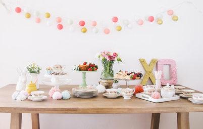 DIY : Organisez une tea party entre amis