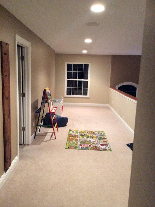 Loft Area Playroom Ideas