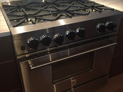 Firstly I Do Not Recommend The 36 Blue Star Gas Range We Purchased Ours Two And A Half Years Ago While Our Oven Door Ears To Be Installed Property