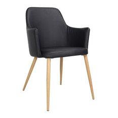 Rambo Dining Chair, Black