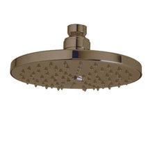 Rodello 2 GPM Single Function Rain Shower Head in Tuscan Brass