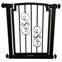 "Noblesse Dog Gate, Mocha, Doorway 28""-34"""