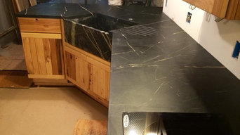 Gris Soapstone Install