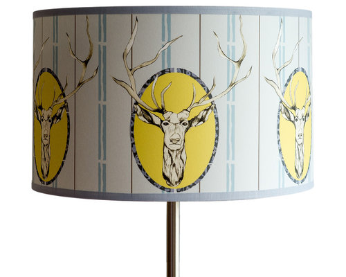 Stag Shallow Drum Light Shade - Lampshades