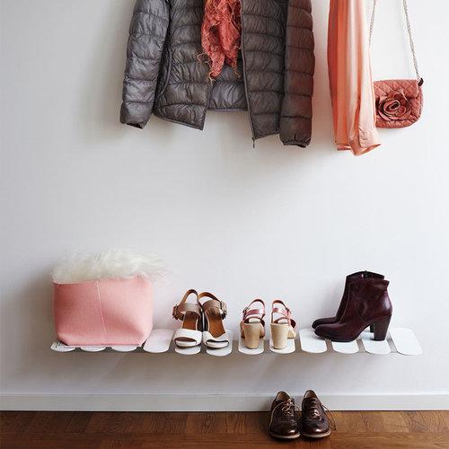 Step Shoe Shelf Skohylla, Vit - Skoopbevaring