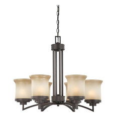 Chandelier Harmony Collection, Dark Chocolate Bronze