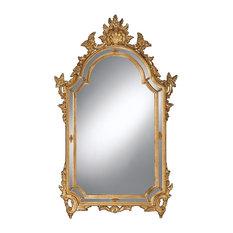 Italian Mirror With Shell Design
