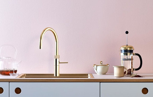 Forny køkkenet med guld