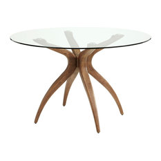 Islington Hevea Wood Dining Table, Round - Spare Part