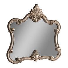 Ornate Traditional Wall Mirror, 99x112 cm