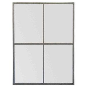 EMDE Zinc Marcel Window Mirror