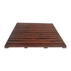 Teak Floor Mat, Walnut, Extra Large