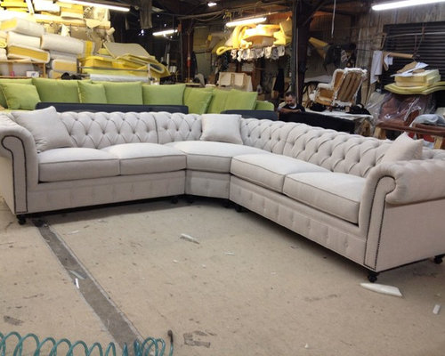 KENZIE STYLE   Chesterfield Custom Sectional Sofas   Sectional Sofas