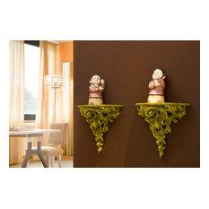 Creazioni Gocciola Wall Mounted Bedside Table