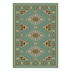 "SignaturePrairie Star Rug06000 Peridot280, 10'9""x13'2"" Rectangle"