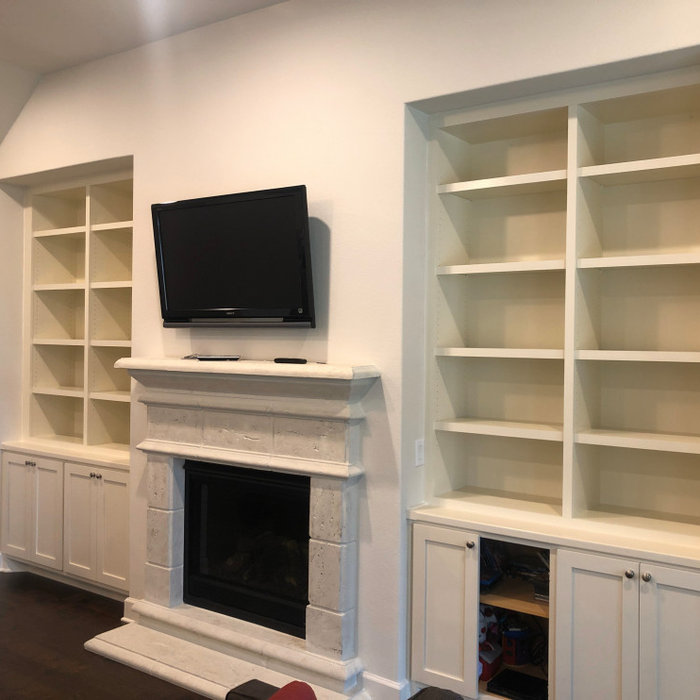 Built in cabinet add on