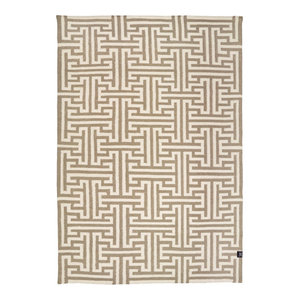 Classic Collection Kyoto Area Rug, White, 200x140 cm