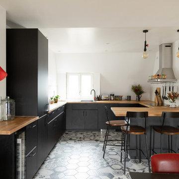 Moderniser et ouvrir sa cuisine - Projet Saint Georges